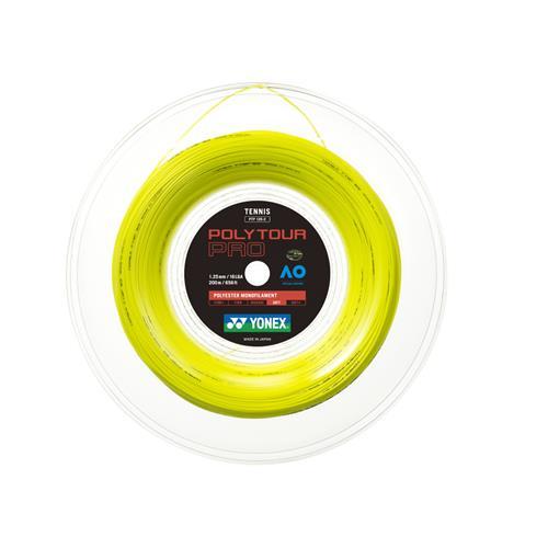 Yonex Poly Tour Pro 125-16L 200m Reel (Yellow)