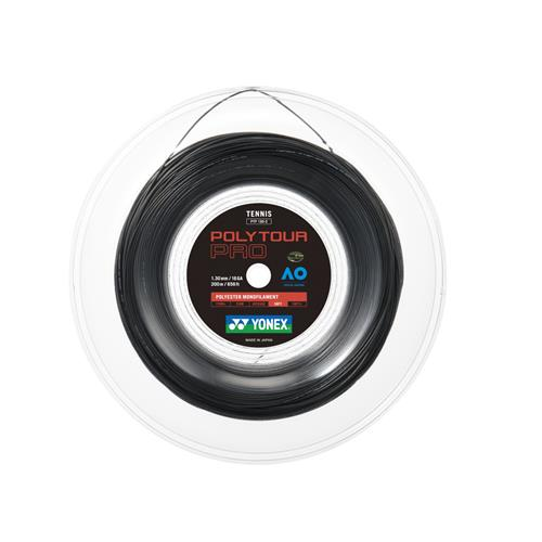 Yonex Poly Tour Pro 130/16 200m Reel (Black)