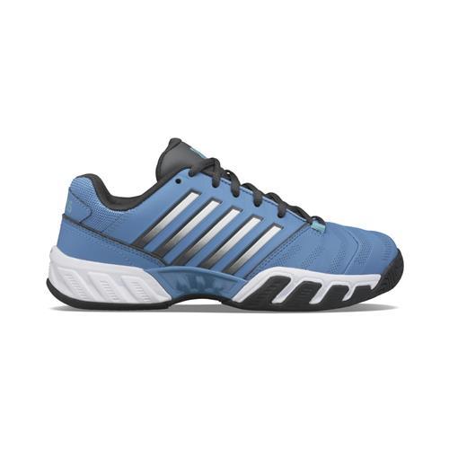 K-Swiss Bigshot Light 4 Junior Tennis Shoes (Swedish Blue/Dark Shadow)