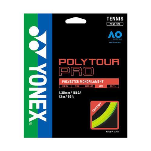 Yonex Poly Tour Pro 125/16 String Set (Flash Yellow)