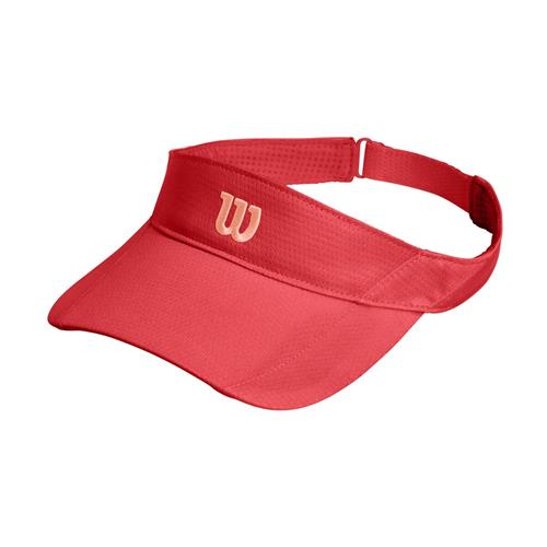 Wilson Rush Knit Visor Ultralight (Cayenne)