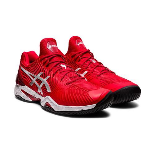 Asics Court FF Novak L.E Mens Shoe (Classic Red/White)