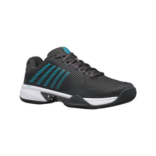 K-Swiss Hypercourt Express 2 HB Mens Shoes (Dark Shadow/Scuba Blue/White)