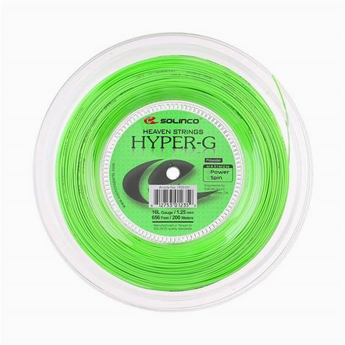 Solinco Hyper-G 125/16L String 200m Reel