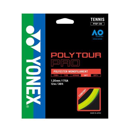Yonex Poly Tour Pro 120/17 String Set (Flash Yellow)