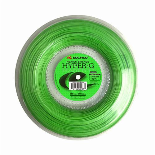 Solinco Hyper-G Soft 125/16 200m Reel (Lime)