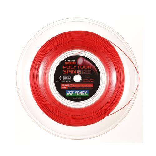 Yonex Poly Tour Spin G 125/16 String 200m Reel (Orange)