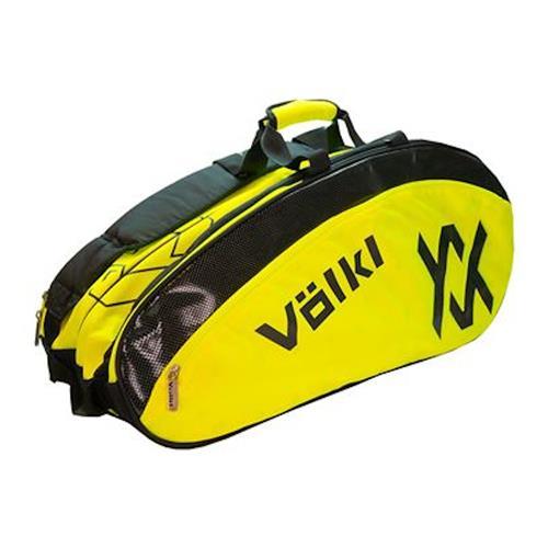 Volkl Tour Mega Bag 6-9 Pack (Black/Neon Yellow)