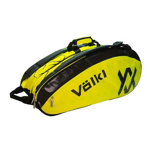 Volkl Tour Mega Bag 9-12 Pack (Black/Neon Yellow)