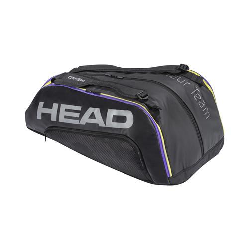 Head Tour Team 12 Racquet Monstercombi (Black/Mix)