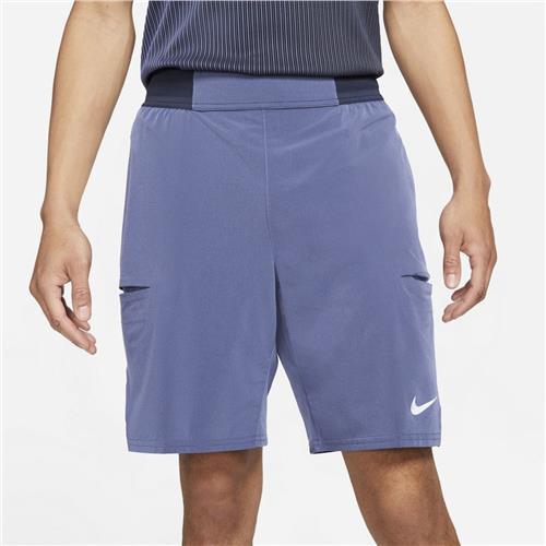 Nike Court Dri-FIT Slam Men's Short (Obsidian/Purple Dust/White)