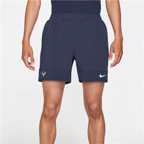 NikeCourt Dri-Fit ADV RAFA Short (Obsidian/Lime Glow)