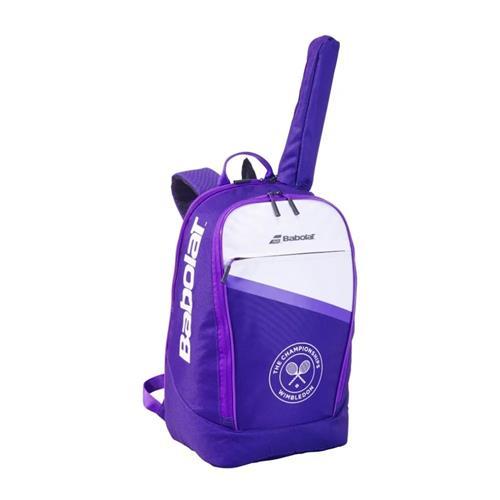 Babolat Wimbledon 2021 Classic Backpack (White/Purple)