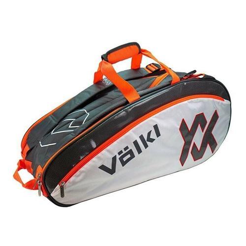 Volkl Tour Combi 6 Racket Bag Charcoal/White/Lava