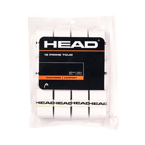 Head Prime Tour Overgrip 12pk (White)