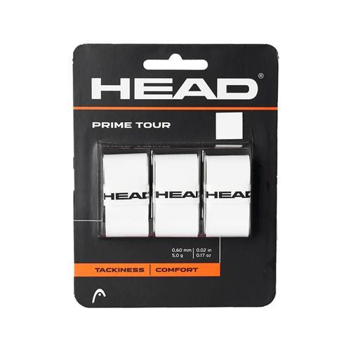 Head Prime Tour Overgrip 3pk (White)