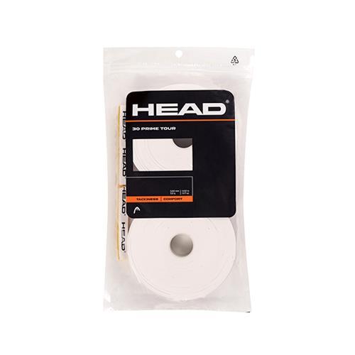 Head Prime Tour Overgrip 30pk (White)