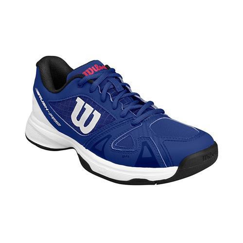 Wilson Rush Pro JR 2.5 Junior Shoe (Blue/White/Red)