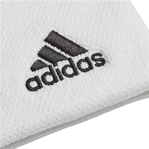 Adidas Wrist Band (White/Black)