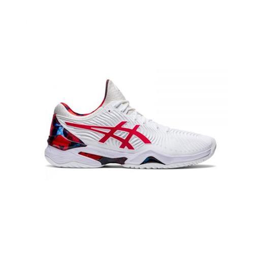 Asics Court FF Novak L.E. Men's Shoe (White/Classic Red)
