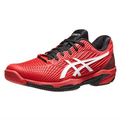 Asics Solution Speed FF2 Mens Shoe (Electric Red/White)