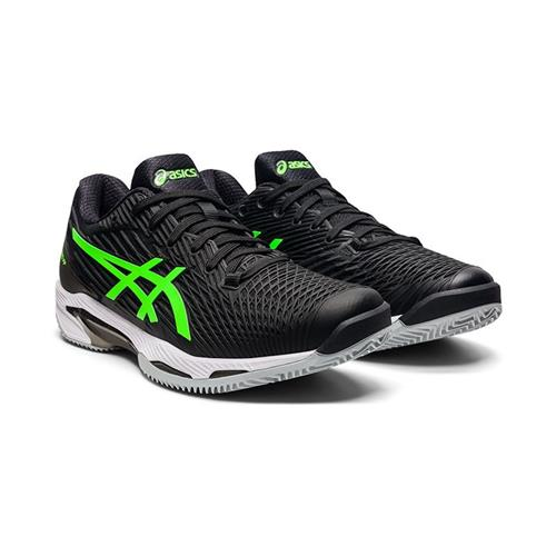 Asics Solution Speed FF2 Clay Mens Shoe (Black/Green Gecko)