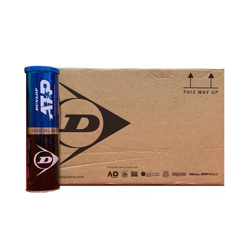 Dunlop ATP Tennis Balls 4 Ball Can X 18 Box