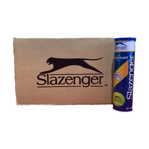 Slazenger Hardcourt 4 Ball Can (Box Of 18)