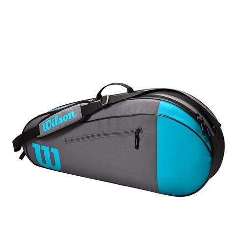 Wilson Team 3 Pack Raquet Bag (Blue/Grey)