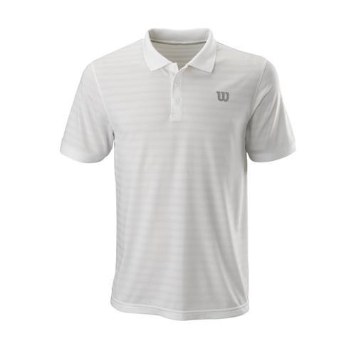 Wilson Men's Stripe Polo (White)