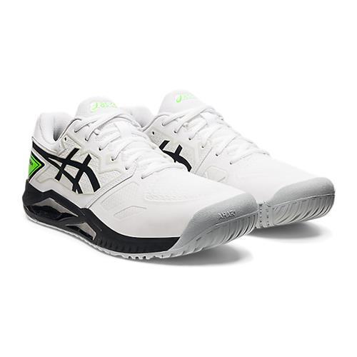 Asics Gel-Challenger 13 Mens Shoe (White/Green Gecko)