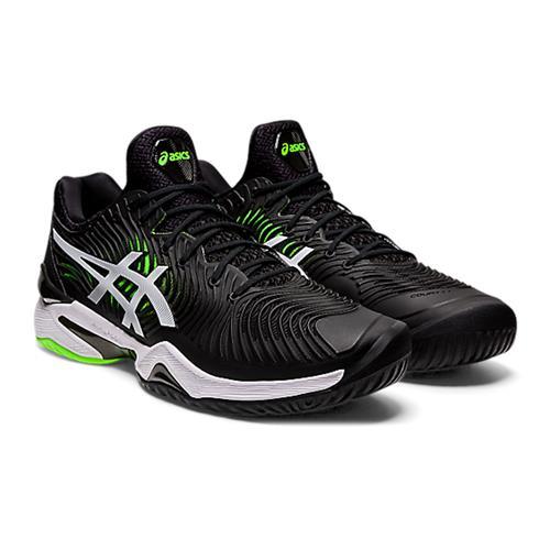 Asics Court FF2 Mens Shoe (Black/Green Gecko)