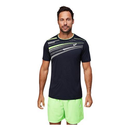 Asics Men's Court GPX Short Sleeved Top (Performance Black)