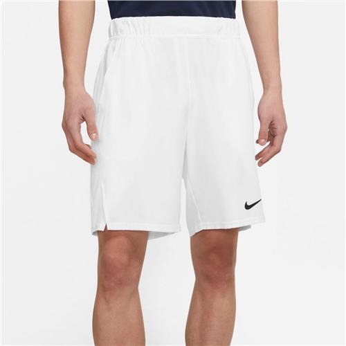 Nike Court DriFit Victory 9″ Men's Tennis Short (White)