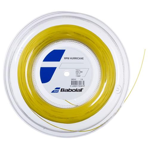 Babolat RPM Hurricane 125/17 200m Reel (Yellow)