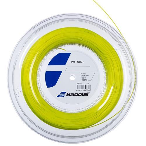 Babolat RPM Rough 125/17 200m Reel (Yellow)