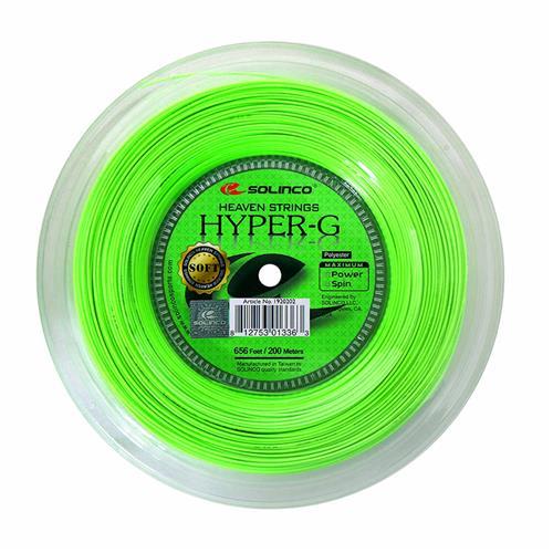Solinco Hyper-G Soft 120/17 200m Reel (Lime)