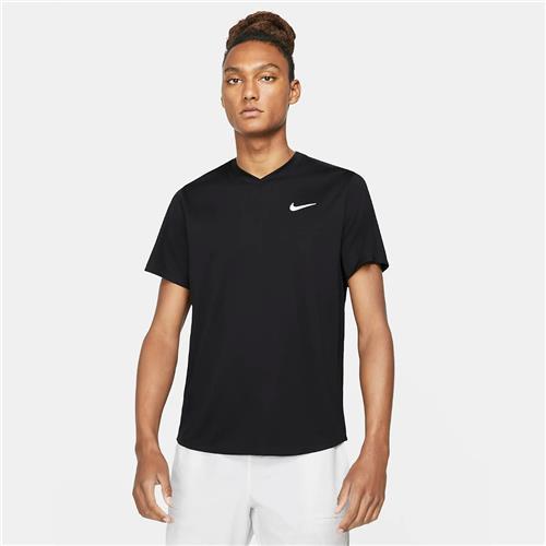 Nike Court Mens Dri-Fit Victory Top (Black)