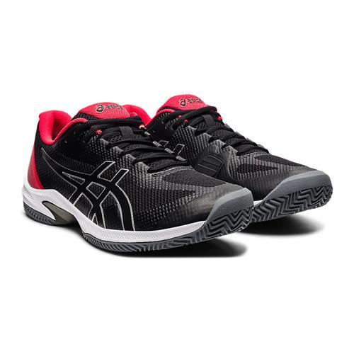 Asics Court Speed FF Clay Mens Shoe (Black/Black)