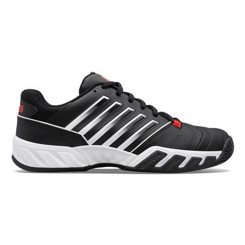 K-Swiss Bigshot Light 4 Mens Shoes (Black/White/Poppy Red)