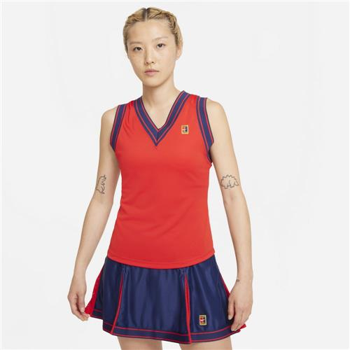 Nike Court Womens Dri-Fit Slam Tank (University Red)