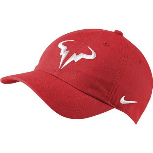 Nike Rafa AEROBILL H86 Cap (Chile Red/White)