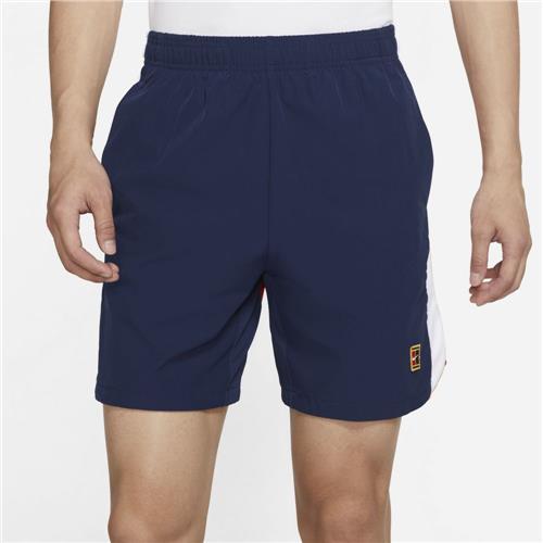 Nike Court Dri-Fit Slam Mens Short (Binary Blue/University Red/White)