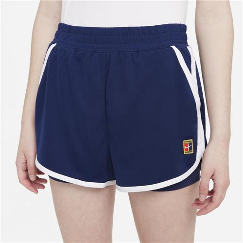 Nike Court Womens Dri-Fit Slam Short (Binary Blue/White)