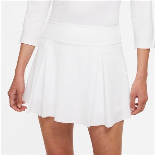 Nike Womens Dri-Fit Club Skirt (White)