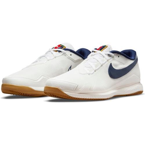 Nike Court Air Zoom Vapor Pro HC Mens Shoe (Summit White/Binary Blue-White)