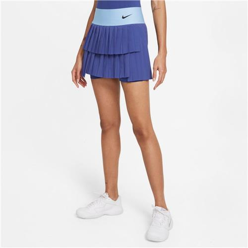 Nike Court Advantage Womens Pleat Tennis Skirt (Purple)