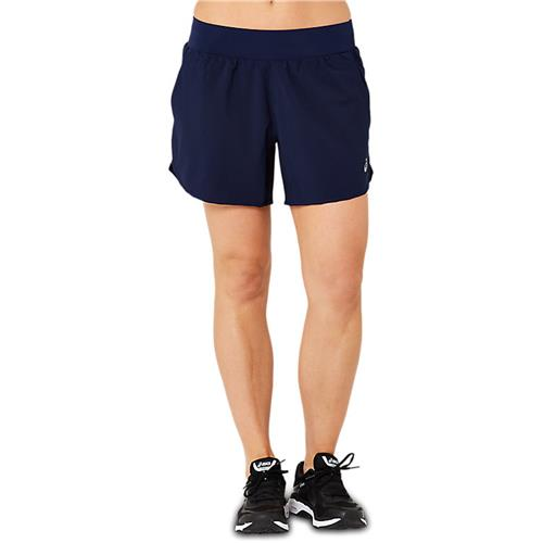 Asics Womens 5 Inch Training Short (Peacoat)