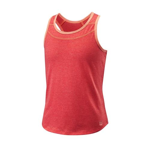 Wilson Girls Competition Tank (Cayenne)