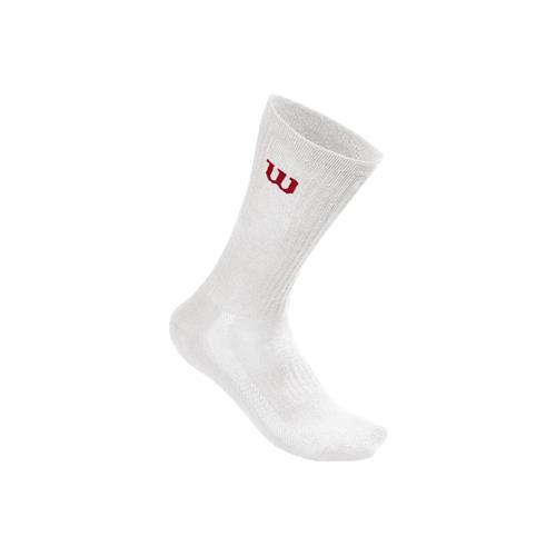 Wilson Mens Crew Sock 3pk (White)